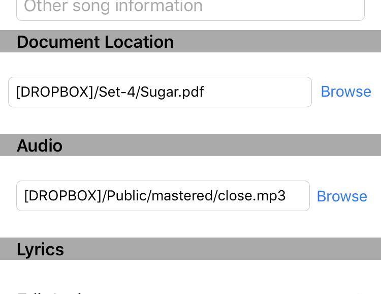 Document Location Apple