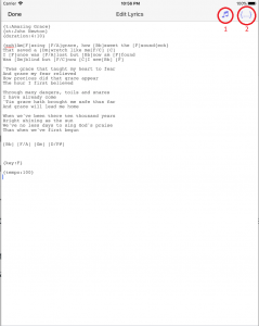Lyrics Edit