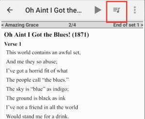 Insert Setlist Song